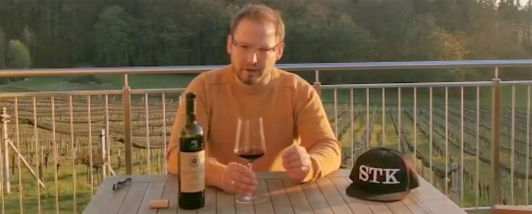 Weinspielerei Frauwallner Blauer Zweigelt